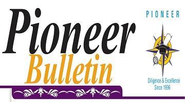 Pioneer Bulletin Volume 2